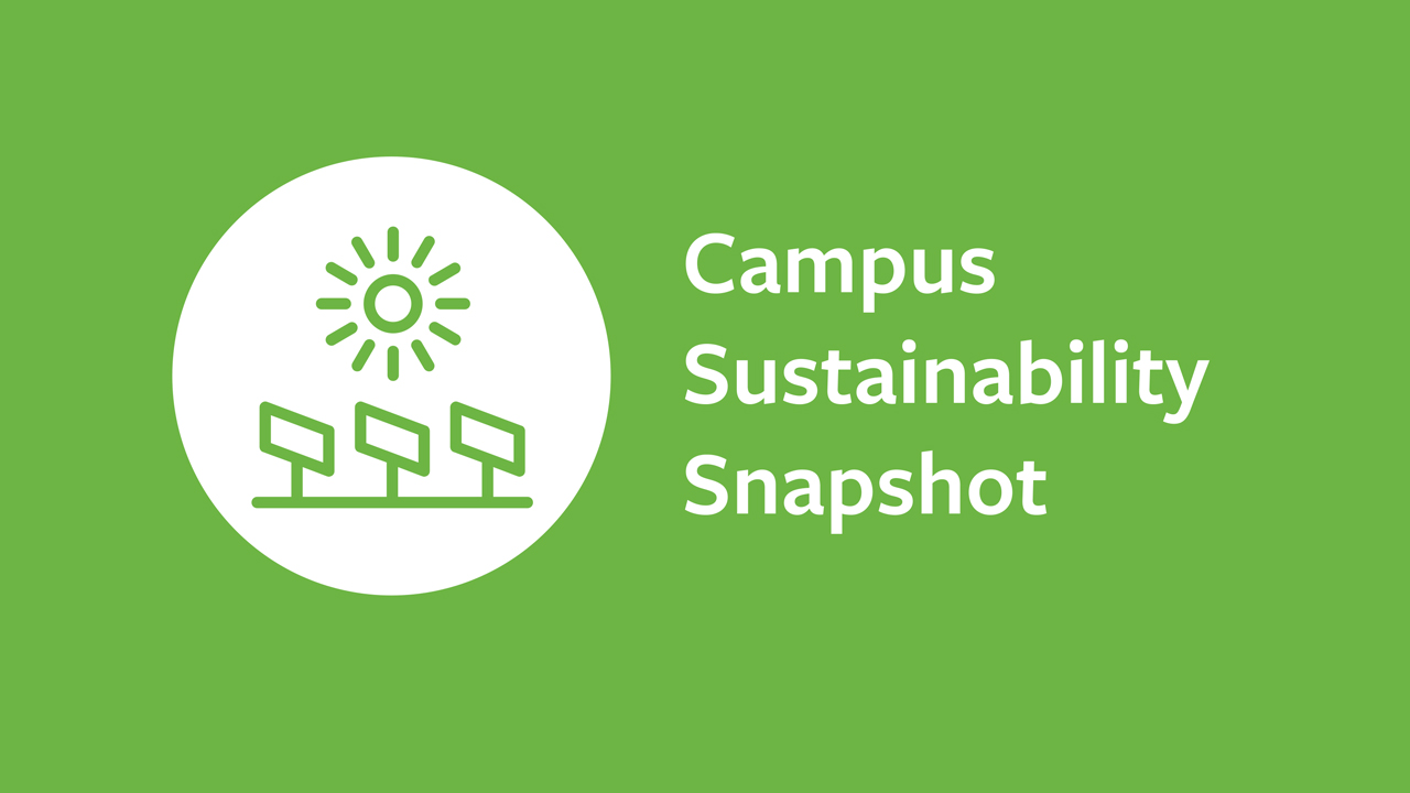 Campus sustainability snapshot logo.